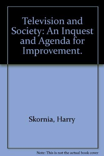 9780070579101: Television and society: an inquest and agenda for improvement