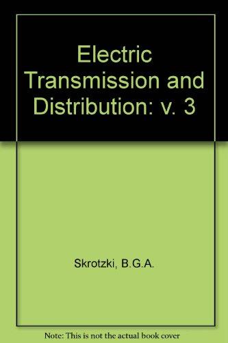 9780070579255: Electric Transmission and Distribution: v. 3