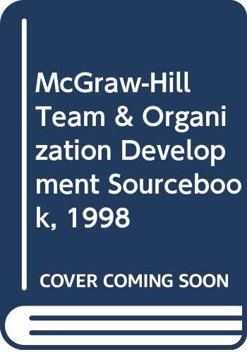 9780070580022: McGraw-Hill Team & Organization Development Sourcebook, 1998