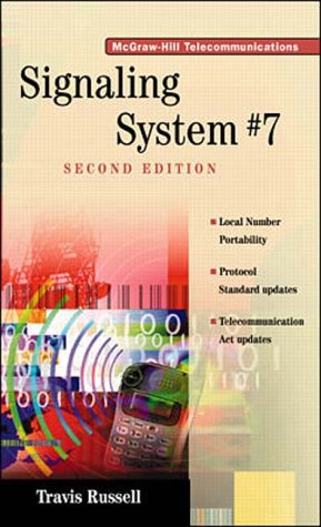 9780070580329: Signaling System 7 (McGraw-Hill Series on Telecommunications)