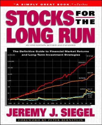 9780070580435: Stocks for the Long Run