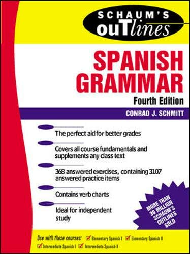 9780070580473: Schaum's Outline of Spanish Grammar (Schaum's Outline Series)