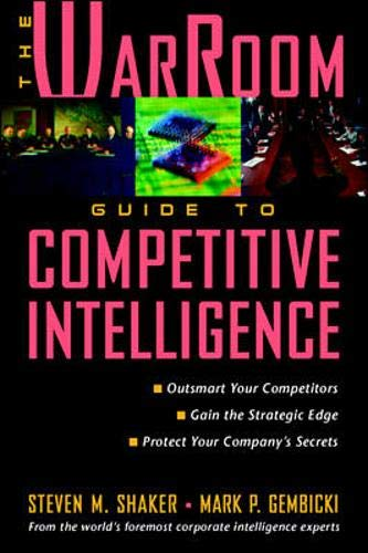 9780070580572: The WarRoom Guide to Competitive Intelligence
