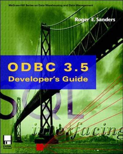 9780070580879: ODBC 3.5 Developer's Guide