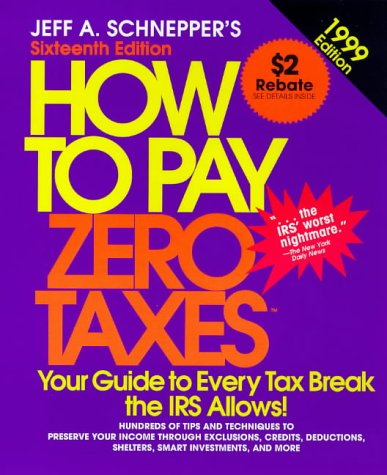 9780070580893: How to Pay Zero Taxes (Serial)
