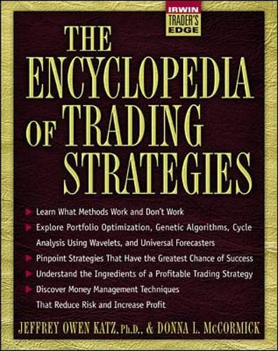9780070580992: The Encyclopedia of Trading Strategies (McGraw-Hill Trader's Edge Series)