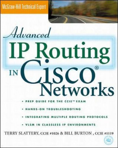 9780070581449: Advanced IP Routing in Cisco Networks (Cisco technical expert)