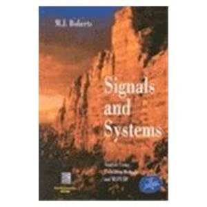 9780070582026: Signals and Systems, Analysis Using Transform Methods and MATLAB