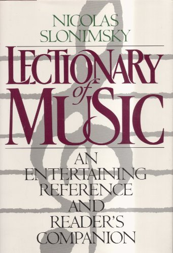Lectionary of Music.