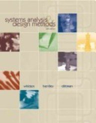 9780070582248: Systems Analysis and Design Methods (Tata McGraw-Hill Edition)
