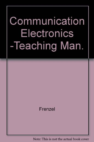 9780070582323: Communication Electronics -Teaching Man.
