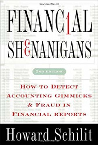 9780070582545: Financial Shenanigans .How to Detect Accounting Gimmicks &Fraud in Financial Reports 2nd edition