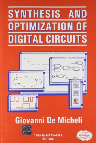 9780070582781: Synthesis and Optimization of Digital Circuits
