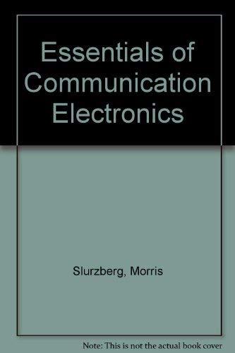 9780070583092: Essentials of Communication Electronics