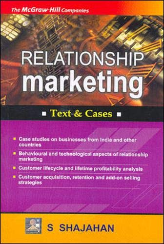 9780070583375: Relationship Marketing: Concepts and Cases