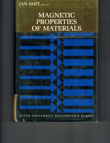 9780070584457: Magnetic Properties of Materials