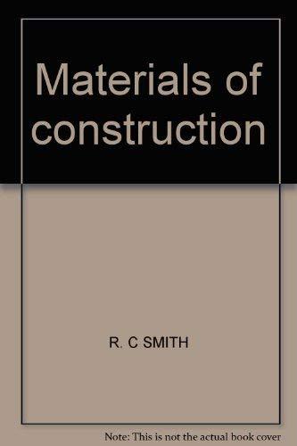 9780070584761: Materials of Construction