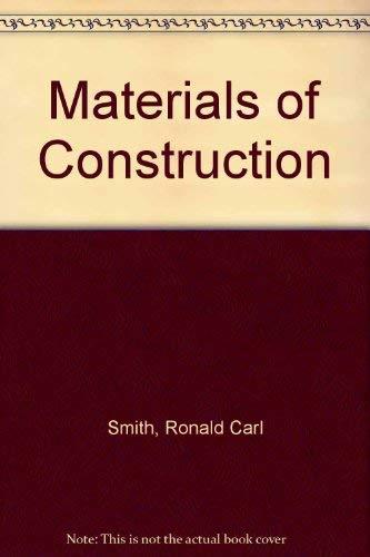9780070584778: Materials of construction