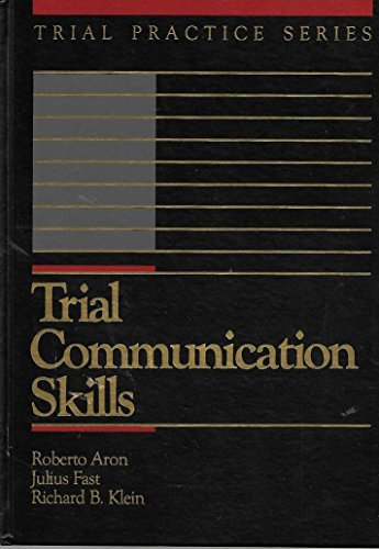 9780070584877: Trial Communication Skills (Trial Practice Series)