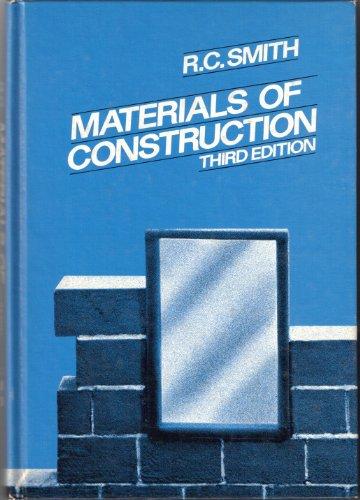 9780070584976: Materials of Construction