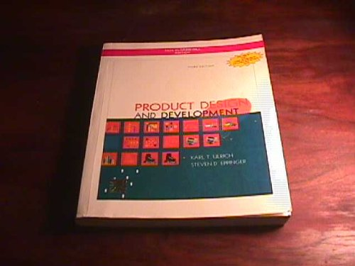 9780070585133: Product Design and Development