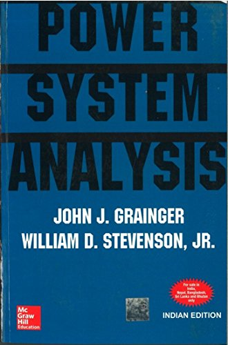 Power System Analysis, 1st Edn: Grainger