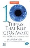 9780070585263: 10 Things That Keep Ceos Awake