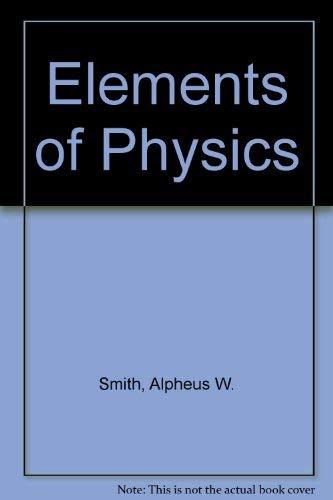 9780070586314: Elements of physics