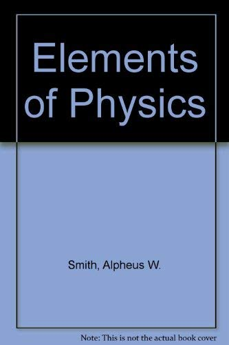 9780070586314: Elements of physics