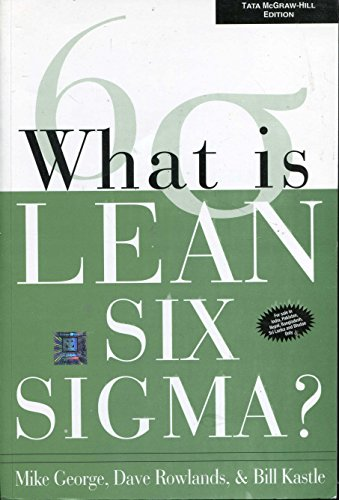 9780070586673: What is Lean Six Sigma?