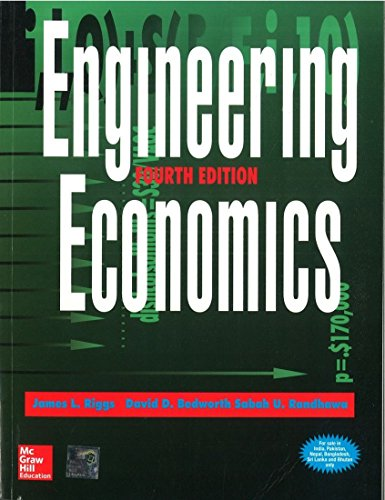 9780070586703: Engineering Economics, 4/e