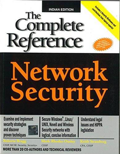 9780070586710: NETWORK SECURITY: THE COMPLETE REFERENCE