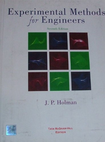 9780070586741: EXPERIMENTAL METHODS FOR ENGINEERS 7th Edition; 2004 Printing
