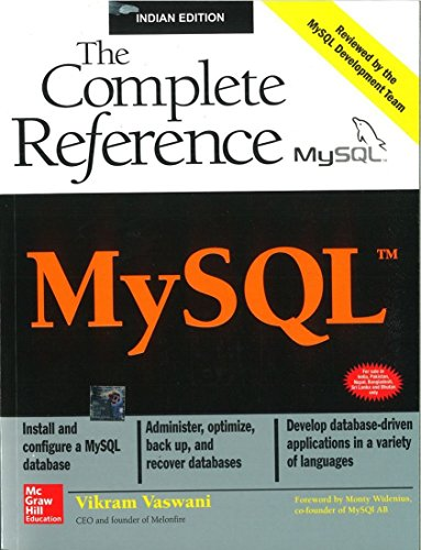 9780070586840: MySQL: The Complete Reference