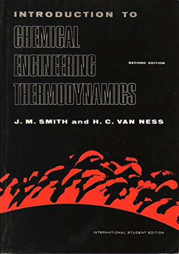 9780070586994: Introduction to Chemical Engineering Thermodynamics