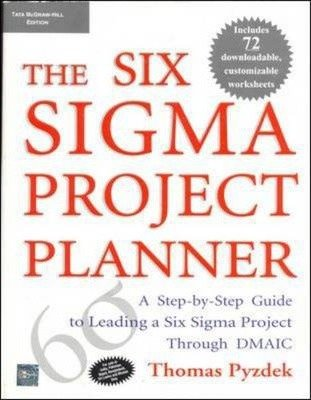 9780070587342: The Six Sigma Project Planner