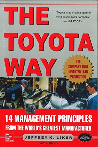 9780070587472: The Toyota Way: 14 Management Principles from the World's Greatest Manufacturer [Import] by LIKER (2004-08-01)