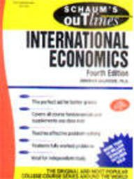 9780070587588: Schaum's Outline of Theory and Problems of International Economics