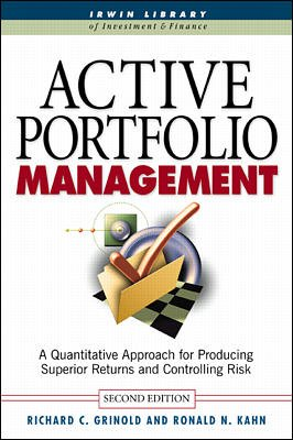 9780070587687: Active Portfolio Management (Business and Economics, No volume)