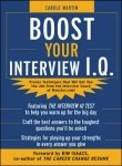 9780070587755: 'Boost Your Interview IQ'.