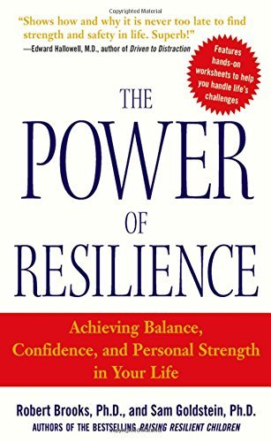 9780070587823: [(Power of Resilience: Achieving Balance, Confidence, and Personal Strength in Your Life)] [Author: Robert Brooks] published on (November, 2004)