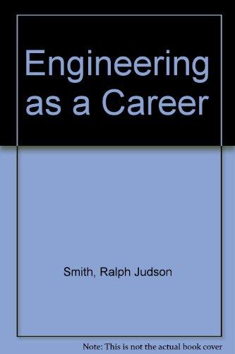 9780070587861: Engineering As a Career