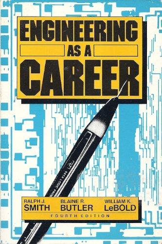 9780070587885: Engineering As a Career