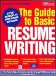 9780070588721: The Guide to Basic Resume Writing