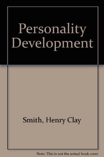 9780070589025: Personality Development