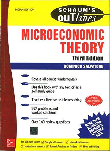 9780070589384: MICROECONOMICS THEORY