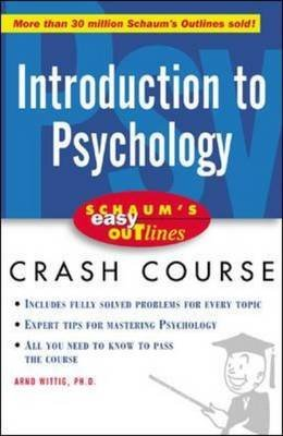 9780070589476: Schaum's Easy Outline of Introduction to Psychology