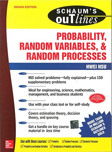 9780070589506: Probability, Random Variables And Random Processes