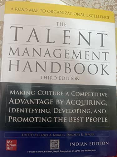 9780070589674: The Talent Management Handbook
