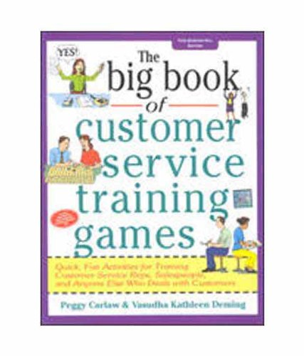 9780070590427: The Big Book of Customer Service Training Games